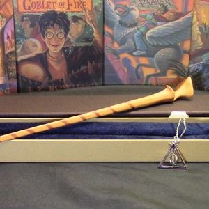 HP Tonks Wand w/ FREE Necklace
